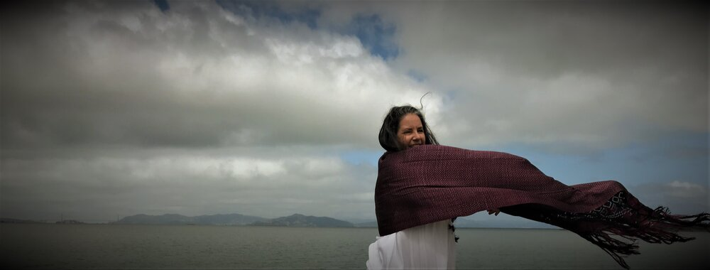 Maria in the Wind by the Bay filtered photo by Marina Romani.jpg