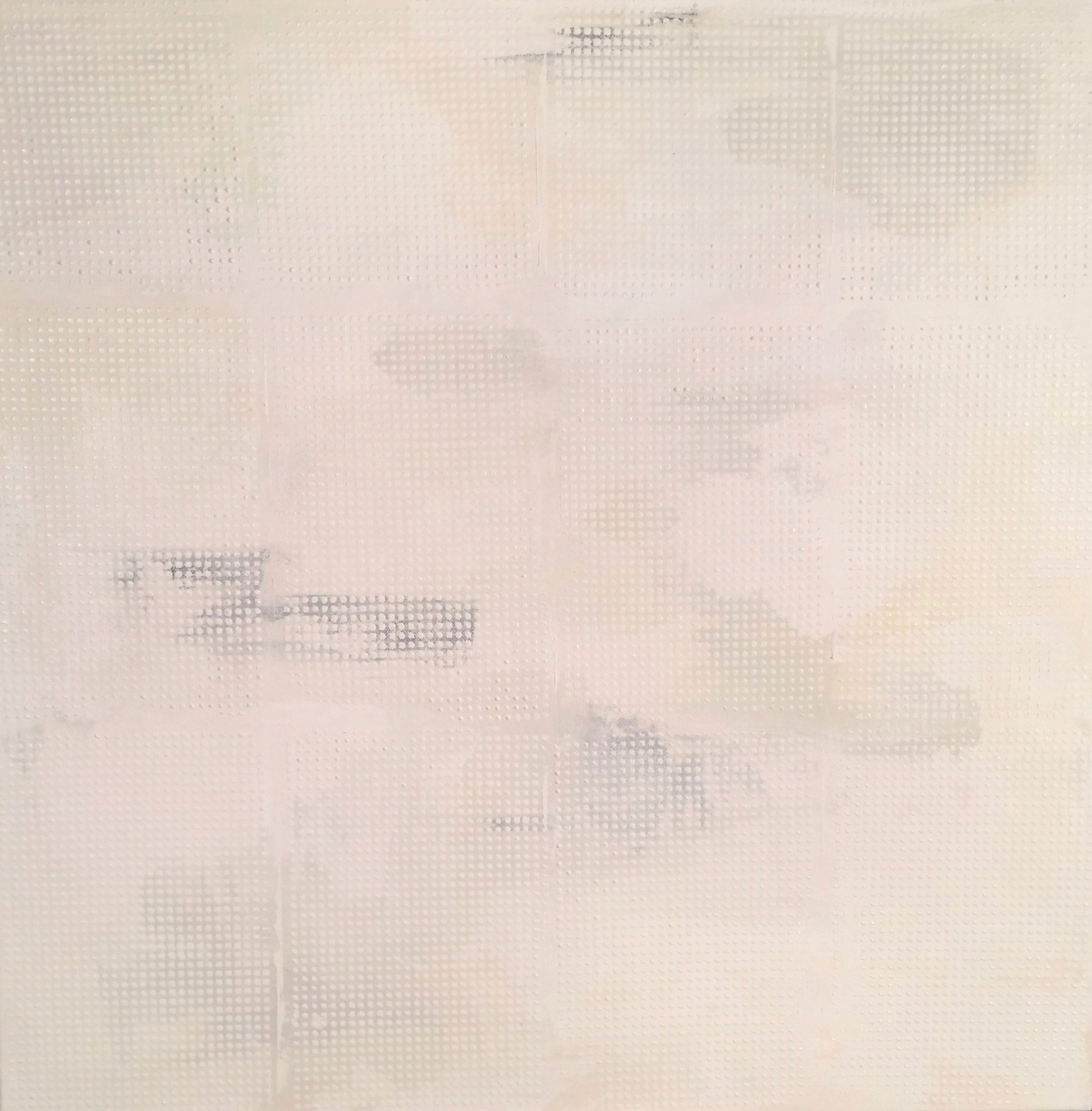 "White Grid, 48""x48"", 2016"