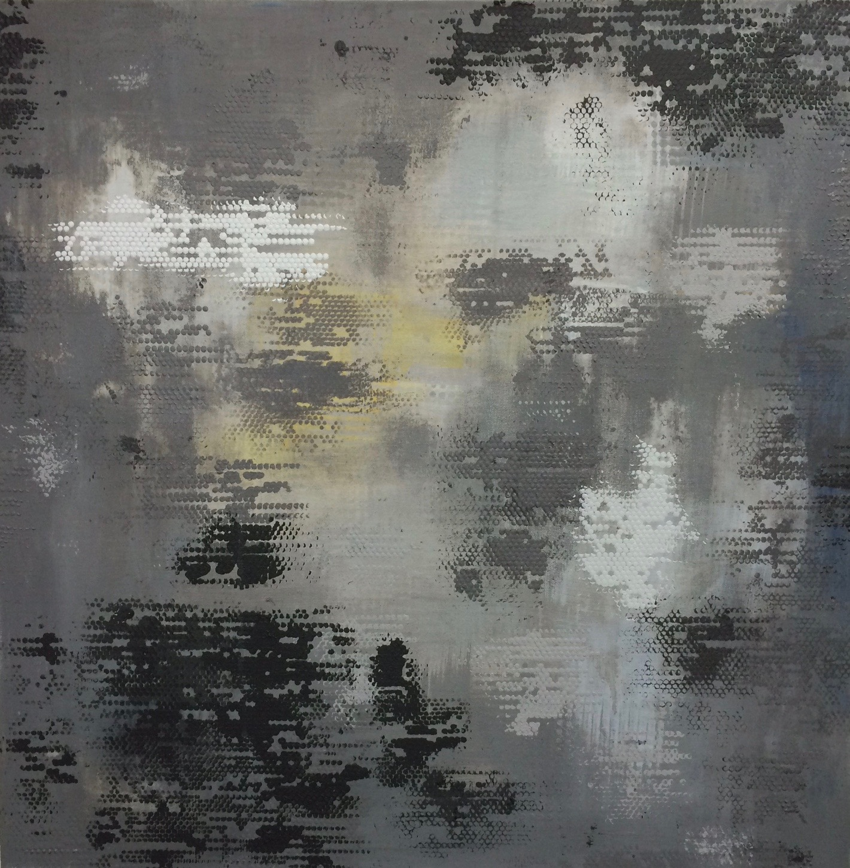 "Dot Matrix, 30"" square, 2014"