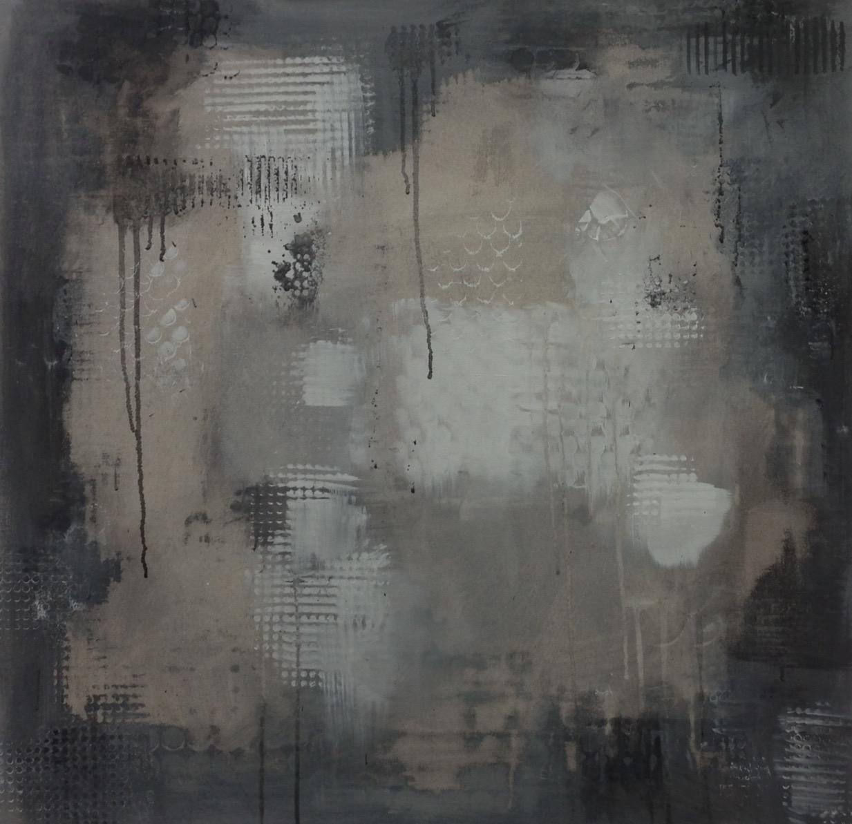"A Little Drip, 30"" square, 2014"