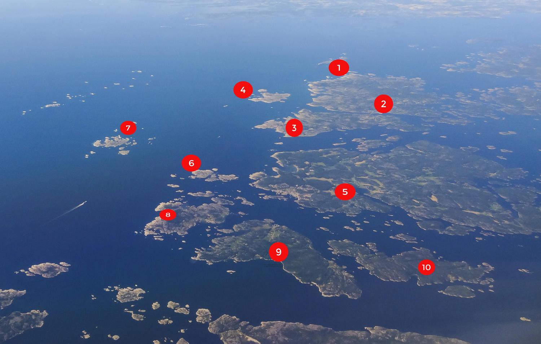 Visit Hvaler Kart Hvaler