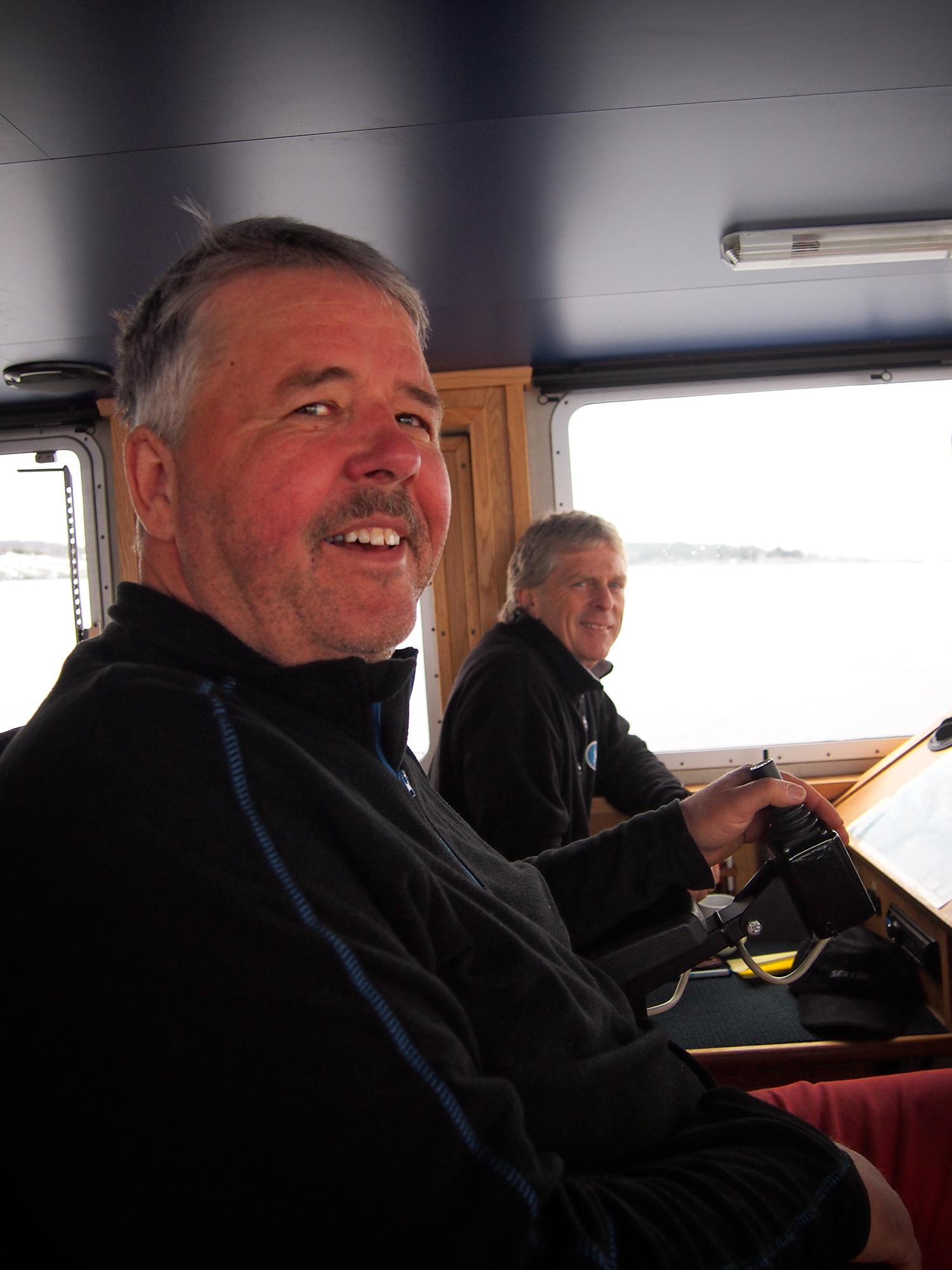 Tom og Eivind (bakerst). Foto: Ingrid Østang