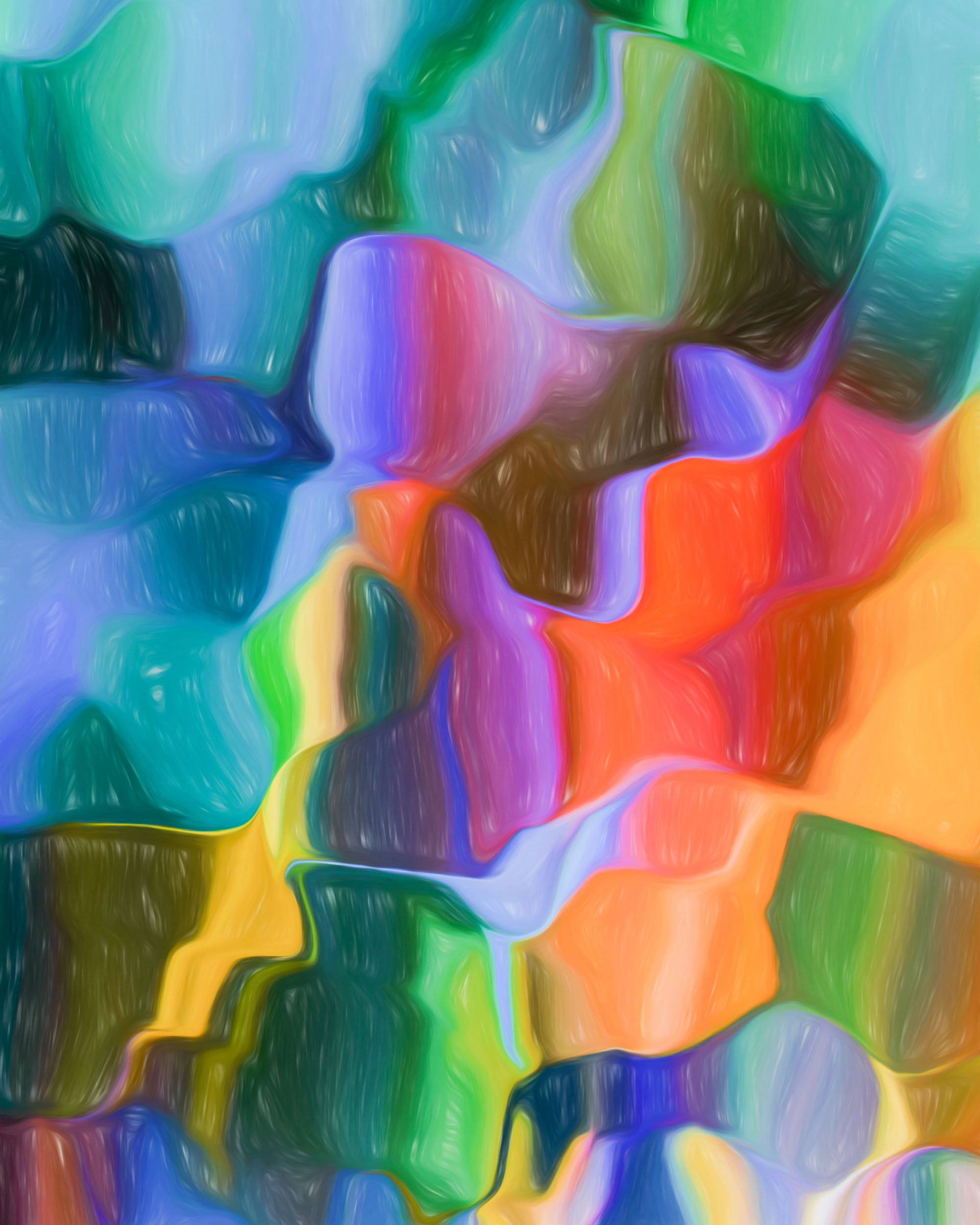 """World of Color Portrait"" - Photography Artist Kevin Sibbitt"