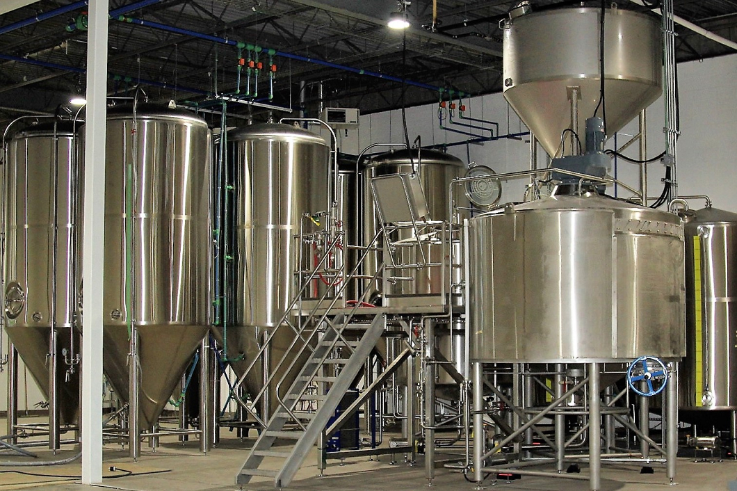 Good Mood Brewery - brewing system