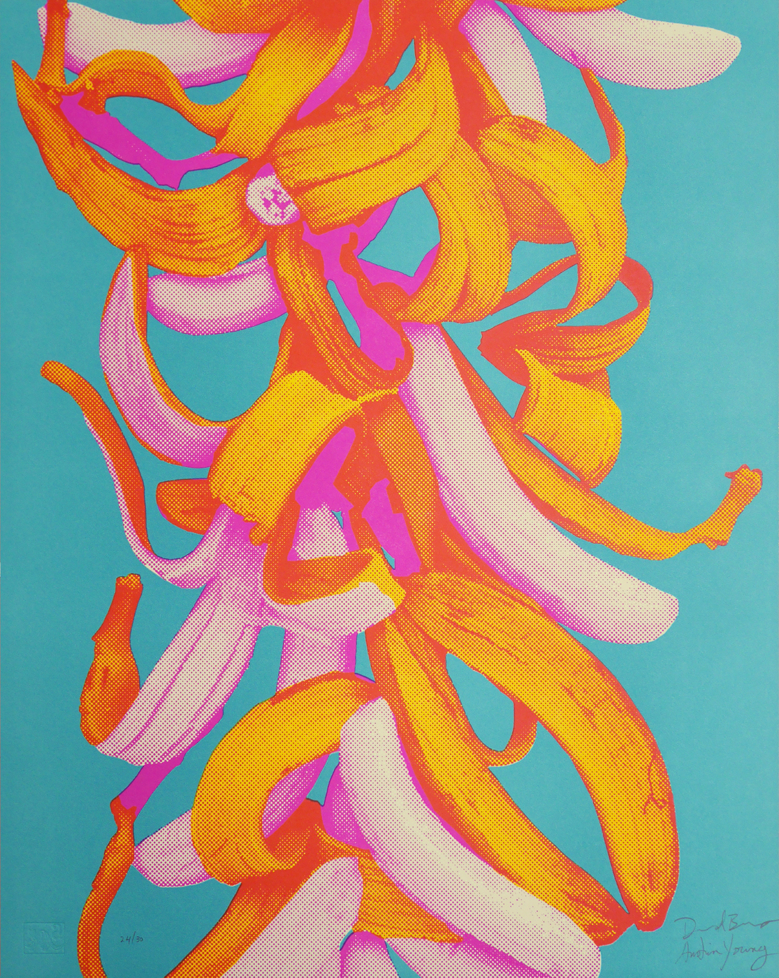 """""""Bananas in 3 colors"""" by Fallen Fruit (David Burns and Austin Young)"""