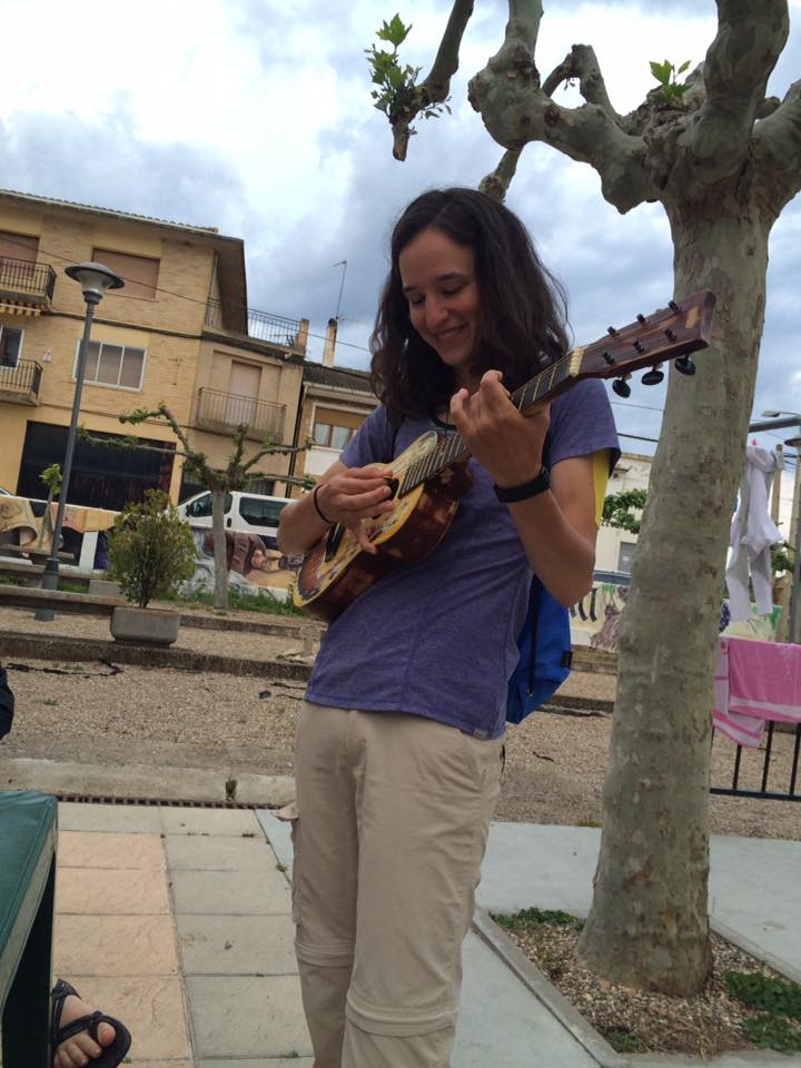 Found a guitar while walking the Camino and couldn't resist jamming for a bit.