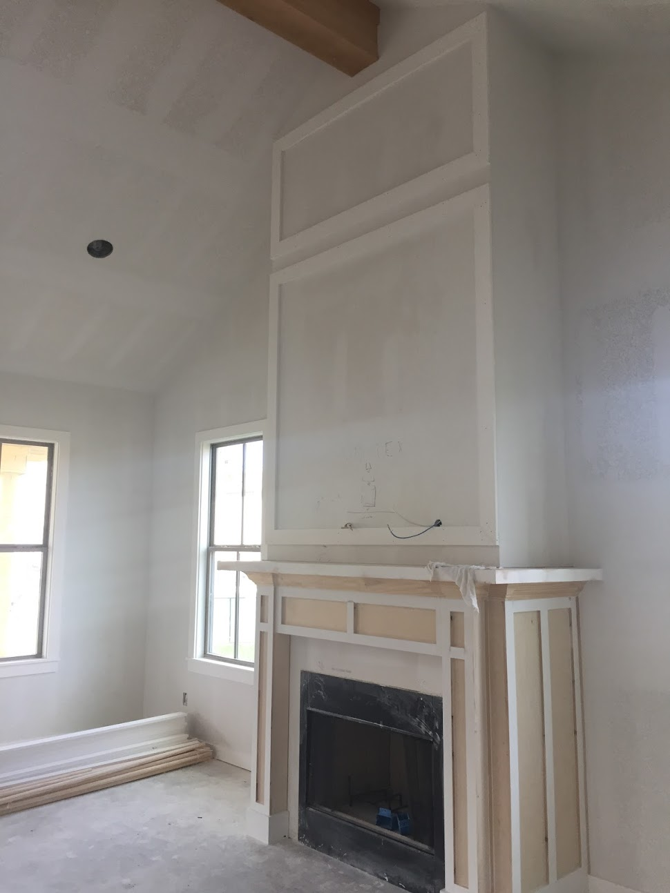 Avenues of Waco Fireplace