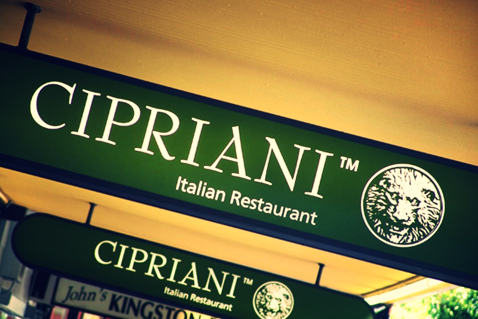 Italian Restaurant Shop Branding