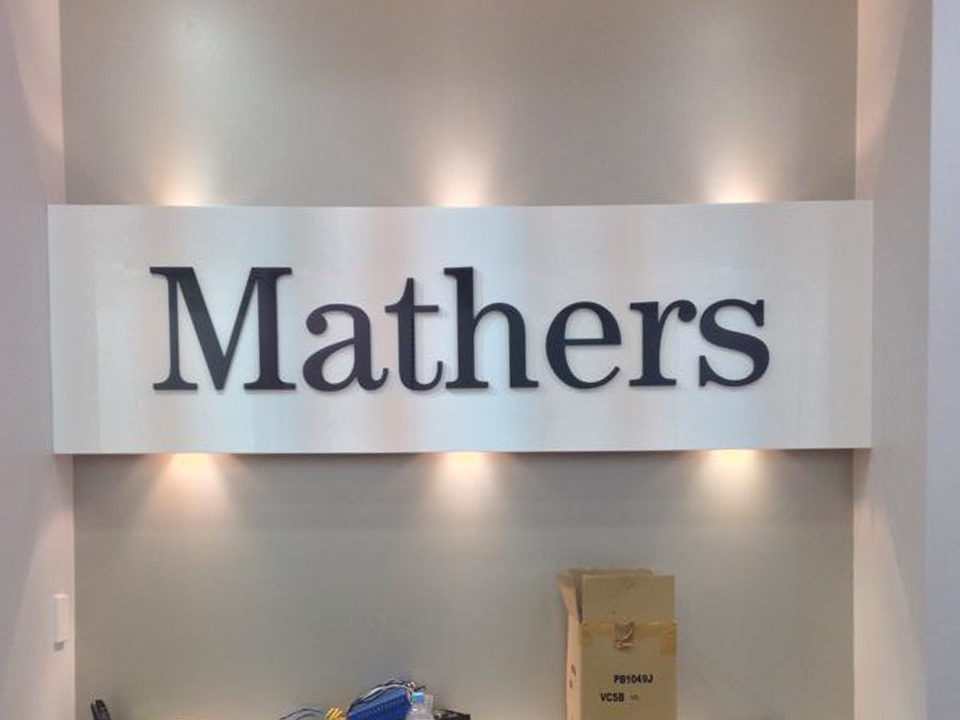 Mathers Shoes Signage Goulburn