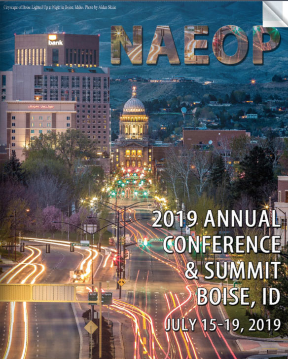 Join some CAEOP members at the 2019 NAEOP Annual Conference and Summit in Boise, ID Click on the image above for more information