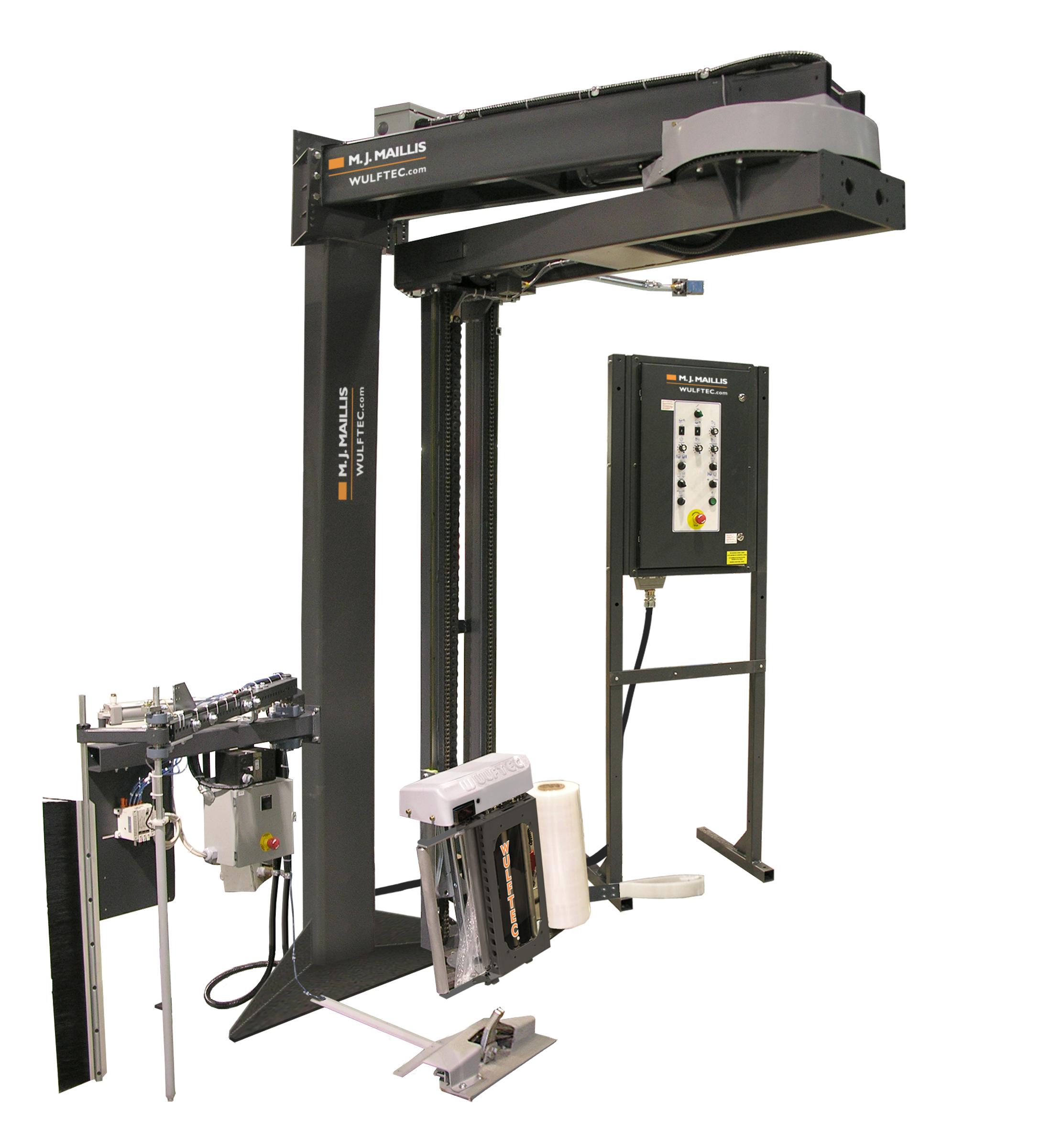 WRTA 100 Wulftec Stretch Wrap Machine.PNG