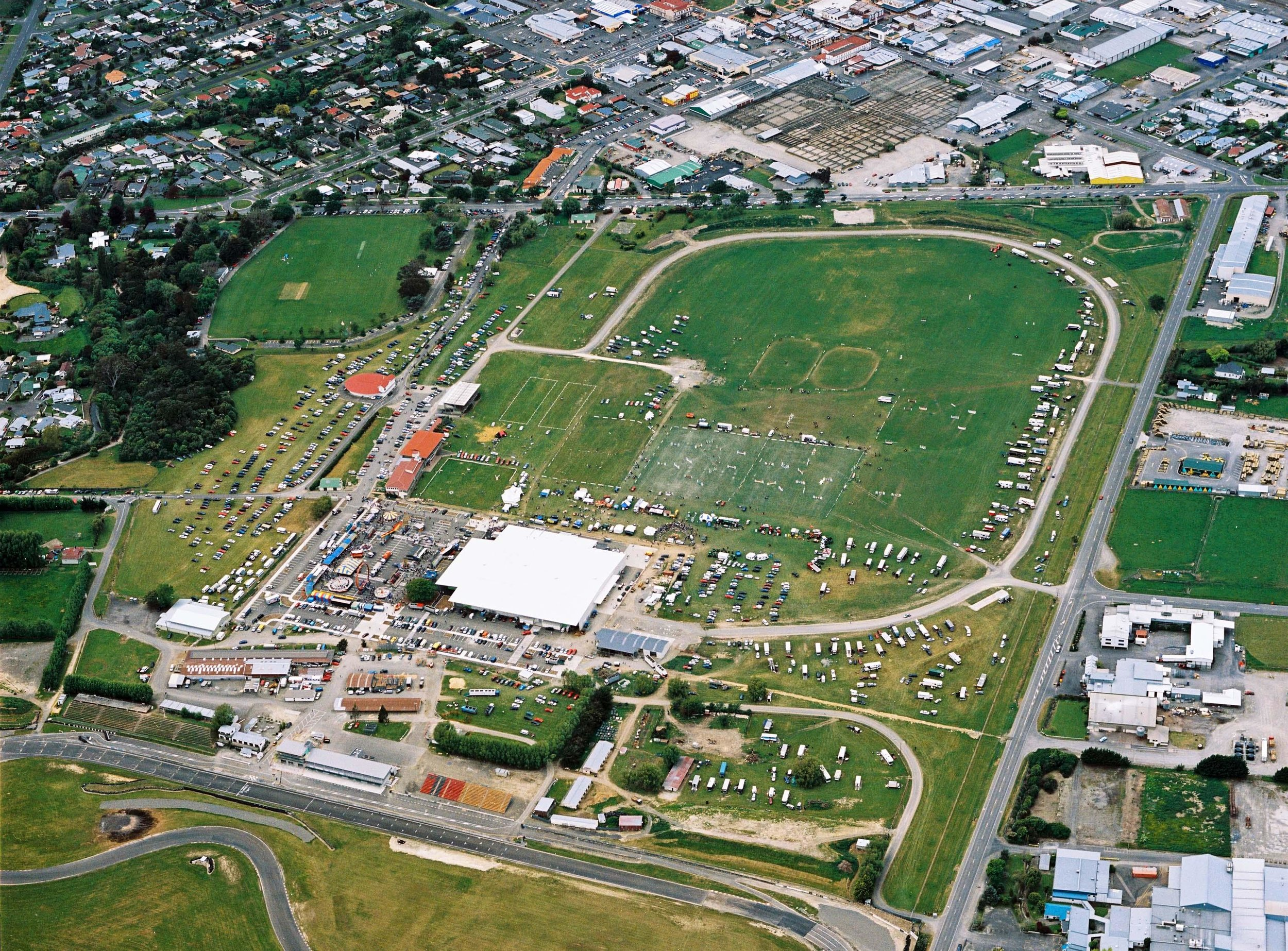 Aerial view of Manfield Park