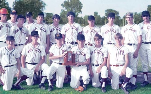 The 1971 Macon Ironmen. Photo courtesy of the  Illinois Times ( May 24, 2012).