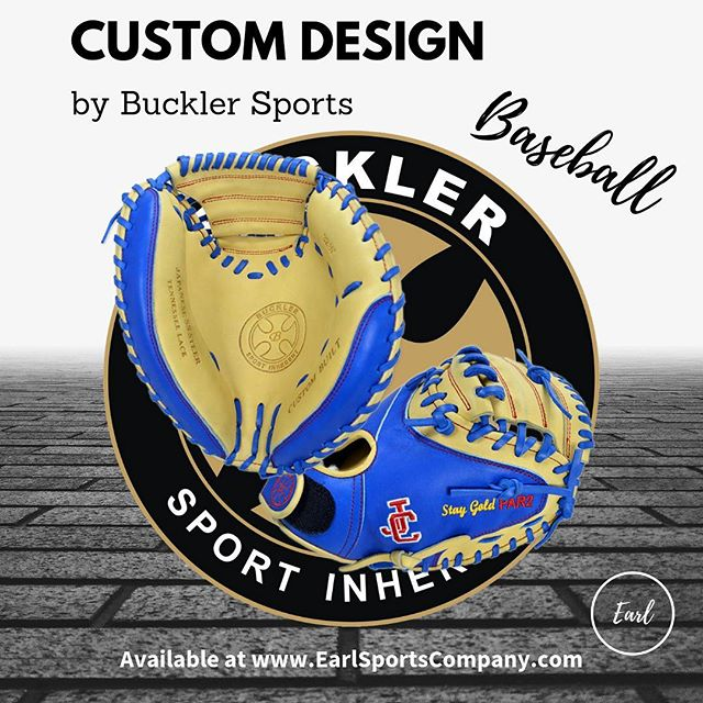A beautiful custom catcher's mitt heading to Jackson County High School. Custom design by Buckler Sports available at @EarlSportsCo. #BucklerUp with Earl! ----------------------------------------------------- #baseball #baseballglove #custombaseballglove #customleather #customglove