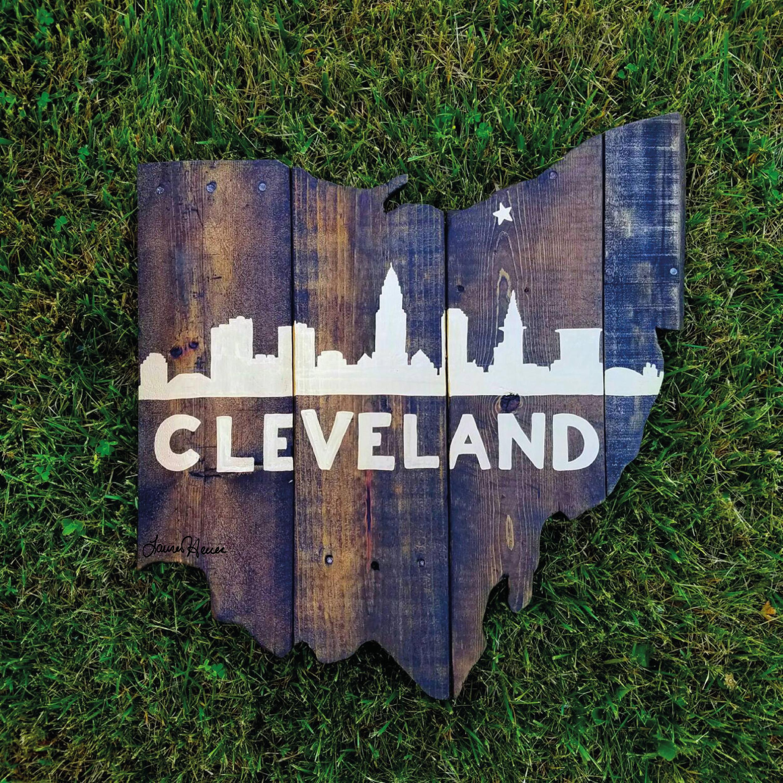 Cleveland Skyline Ohio