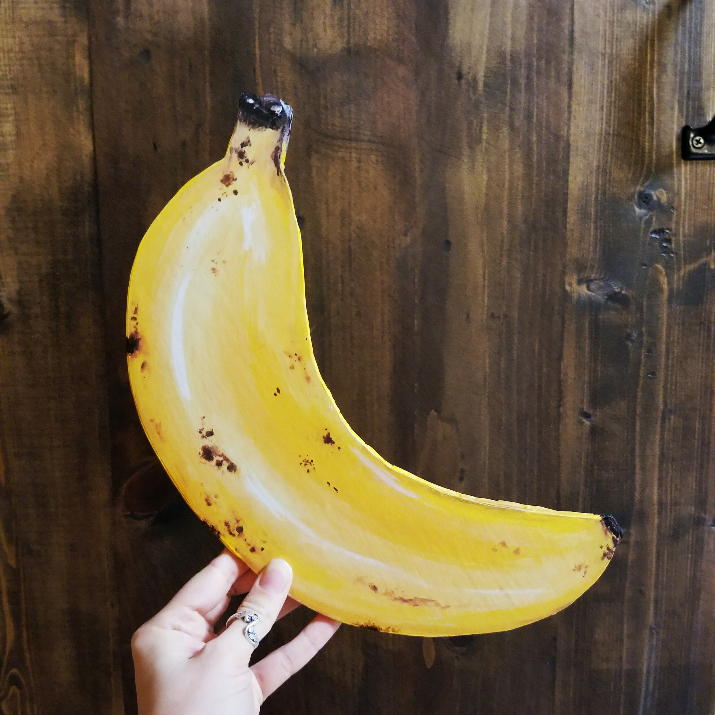 Banana Wooden Plaque