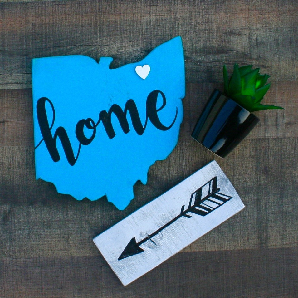 Home Ohio with mini arrow