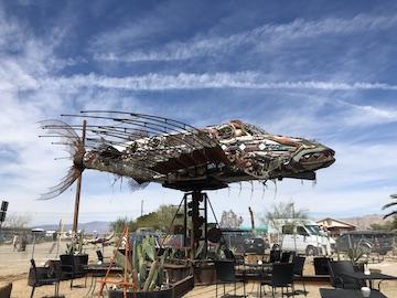Suspended Weather Vane Fish Sculpture.JPG