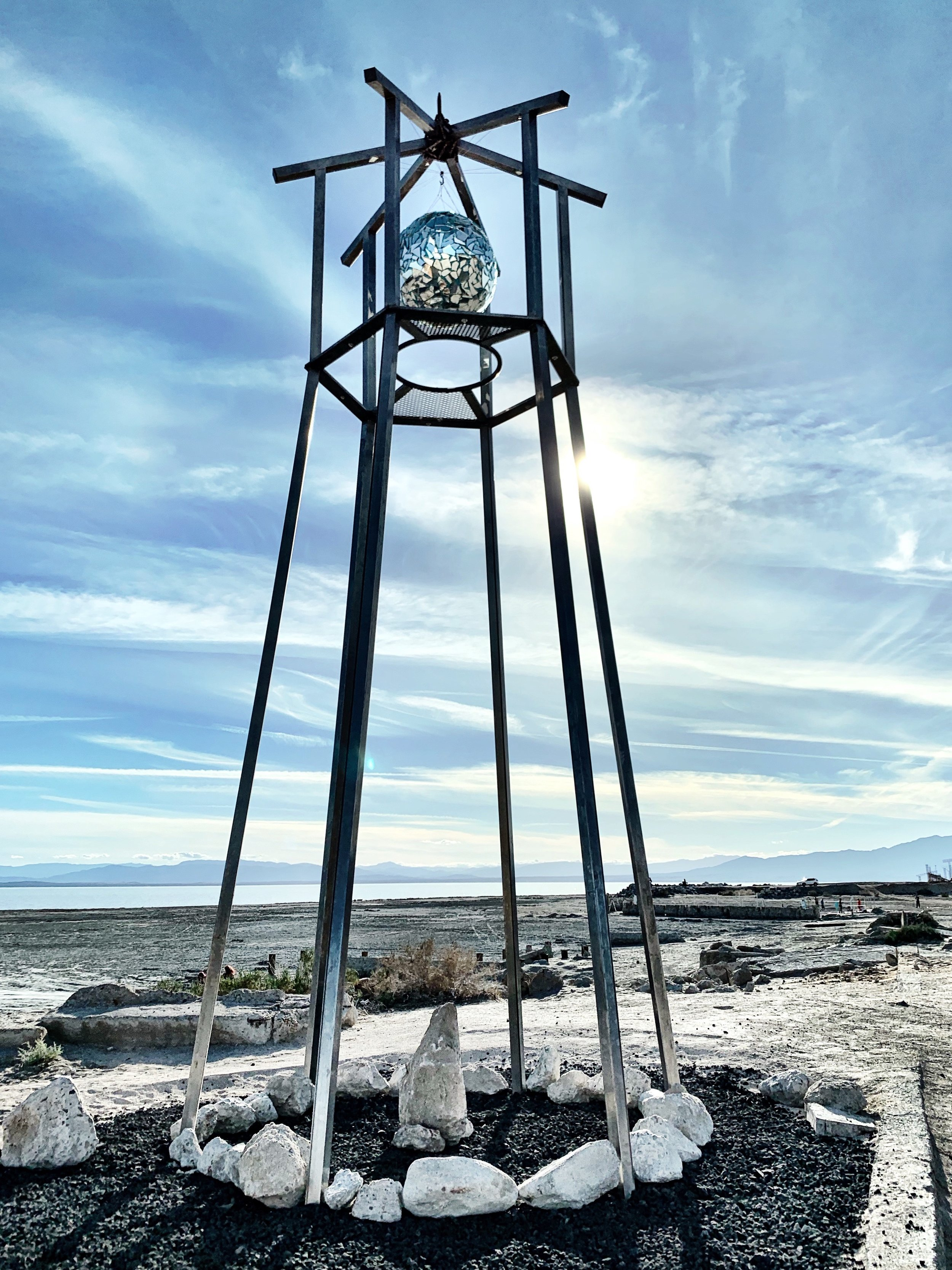 Bombay Beach Disco Lighthouse