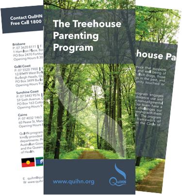 Treehouse Parenting Program Brochure