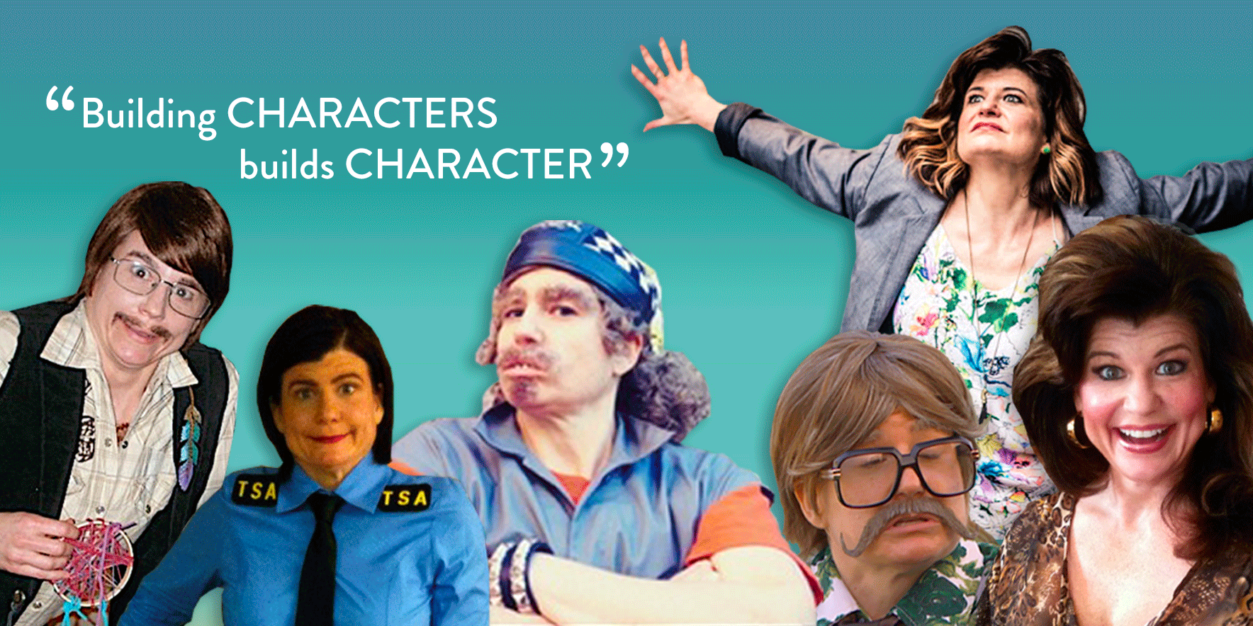 Building characters builds character.