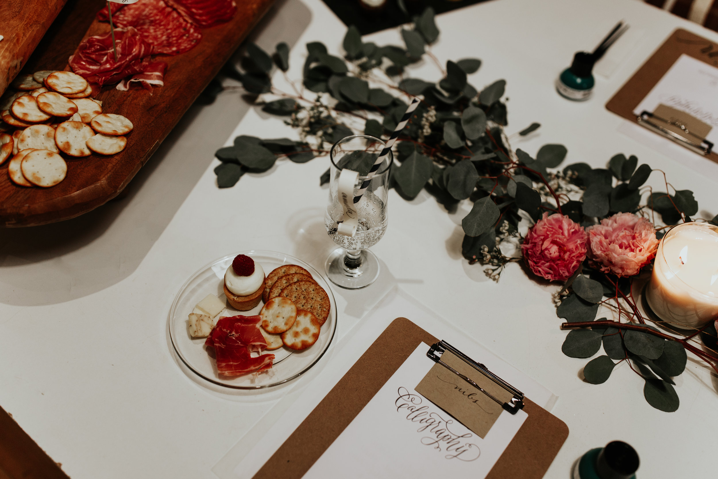 Calligraphy Workshop- Styling by Ashley Spence