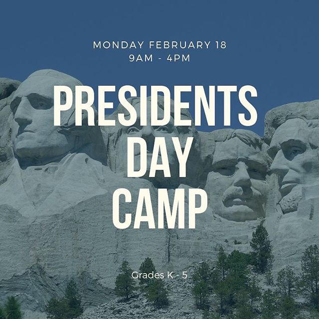 Looking for an educational setting for your child to go on their day out of school? Drop them off at TigerLily STEM! We will be learning about the presidents and their influential part with STEM.  Early drop off & late pick up is available!  Register at https://tigerlilystem.com/stem-classes/2019/2/18/presidents-day-out-of-school-day-camp