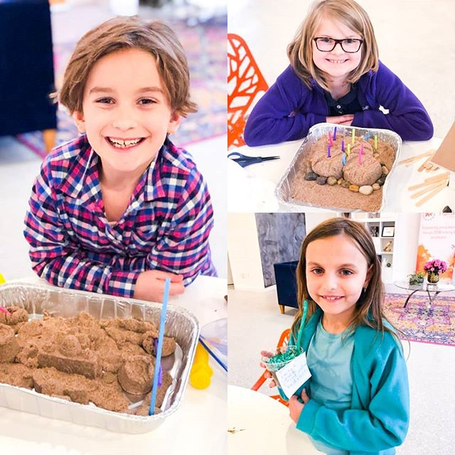 We had a blast tonight learning about soil layers while making edible models and fighting sand castle erosion through engineering! Thanks for joining us!