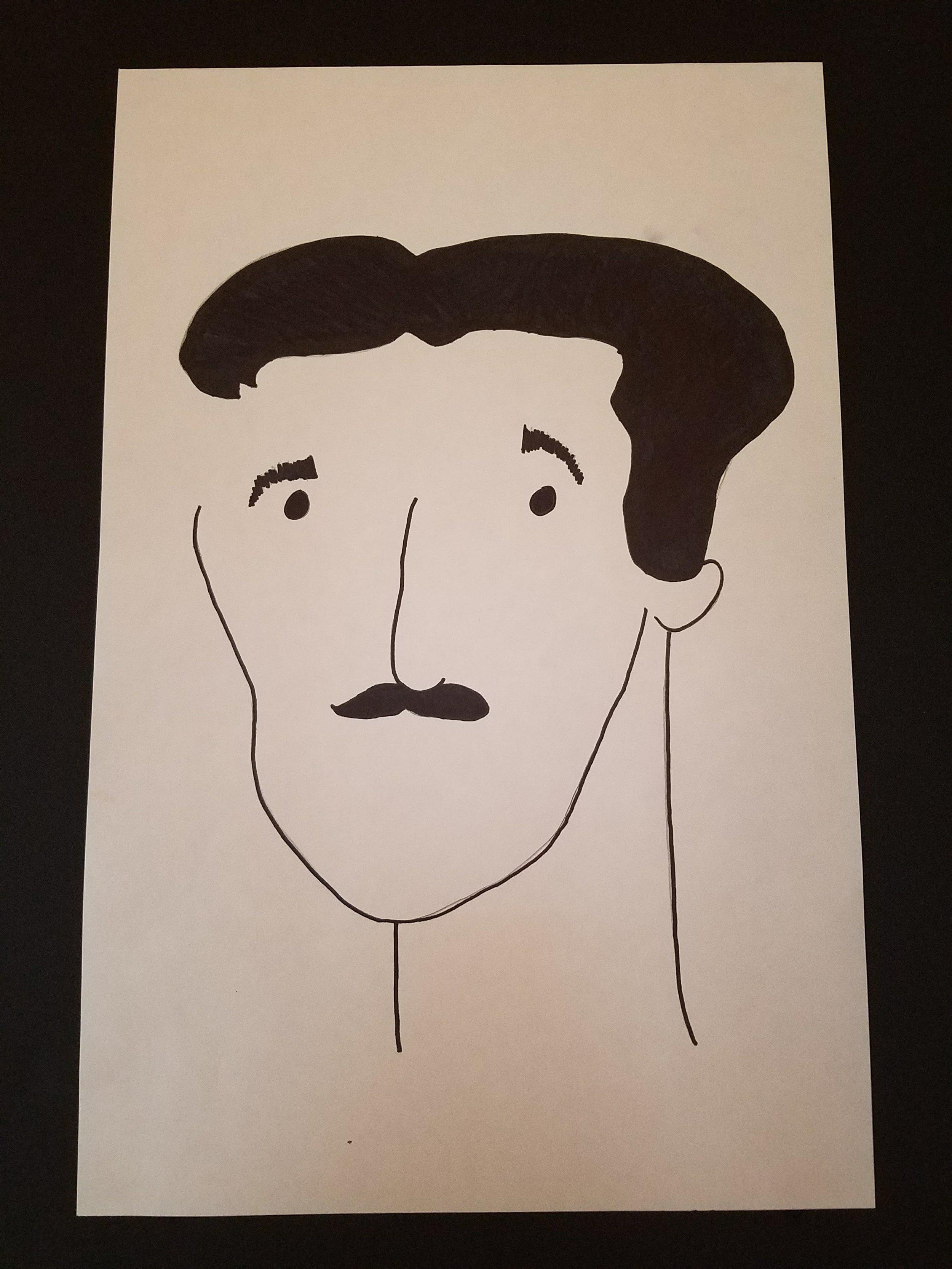 Nikola Tesla  Artwork by Liam Polonijo