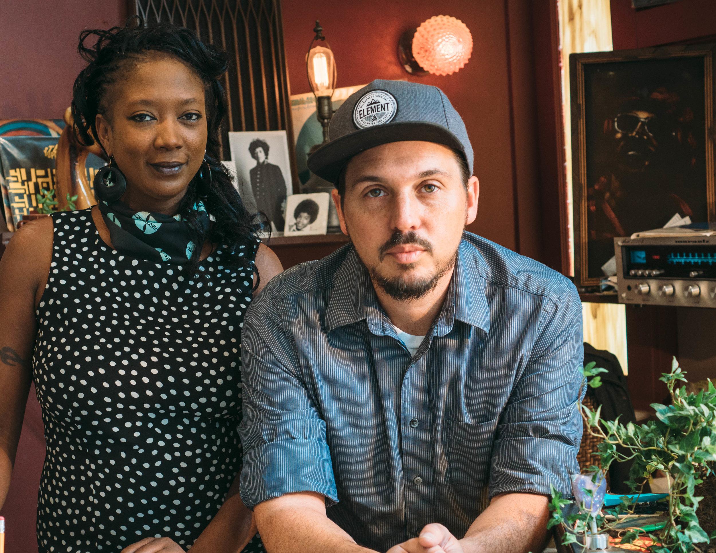 Jacinta Kaumbulu & Donovan Weaton: Champions of vinyl