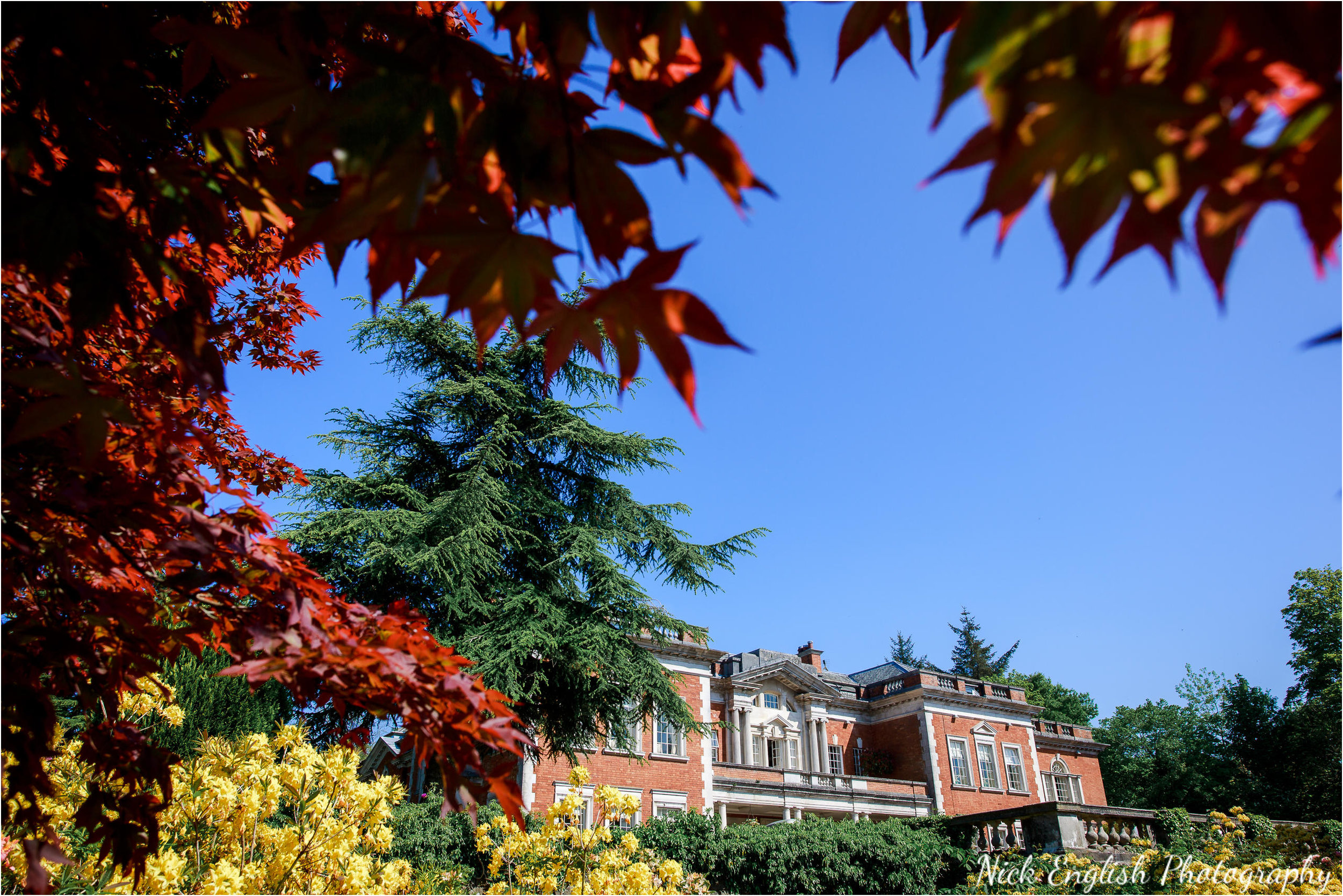 Eaves Hall in Summer
