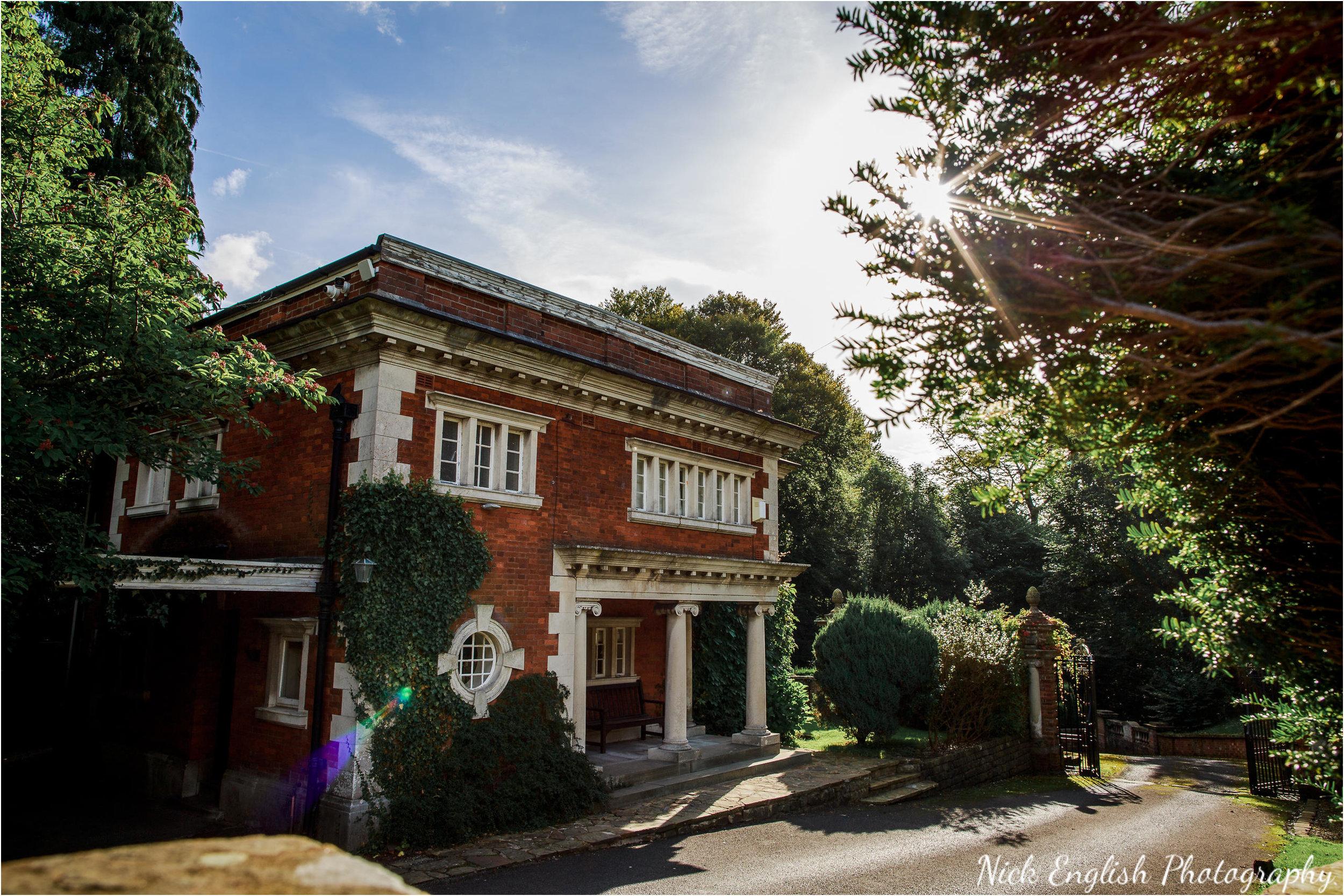 The Lodge, Eaves Hall