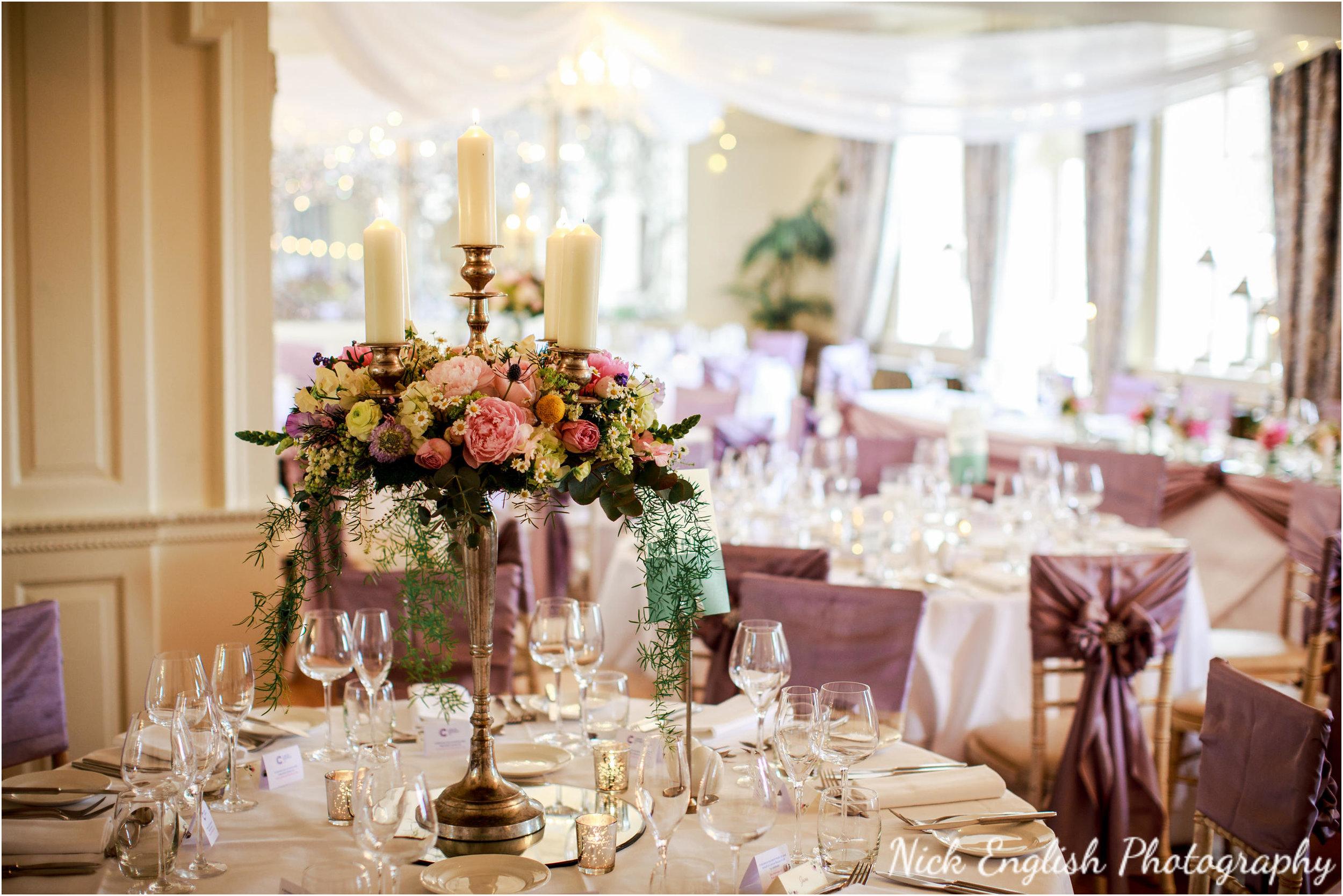 Wedding Breakfast Room Eaves Hall