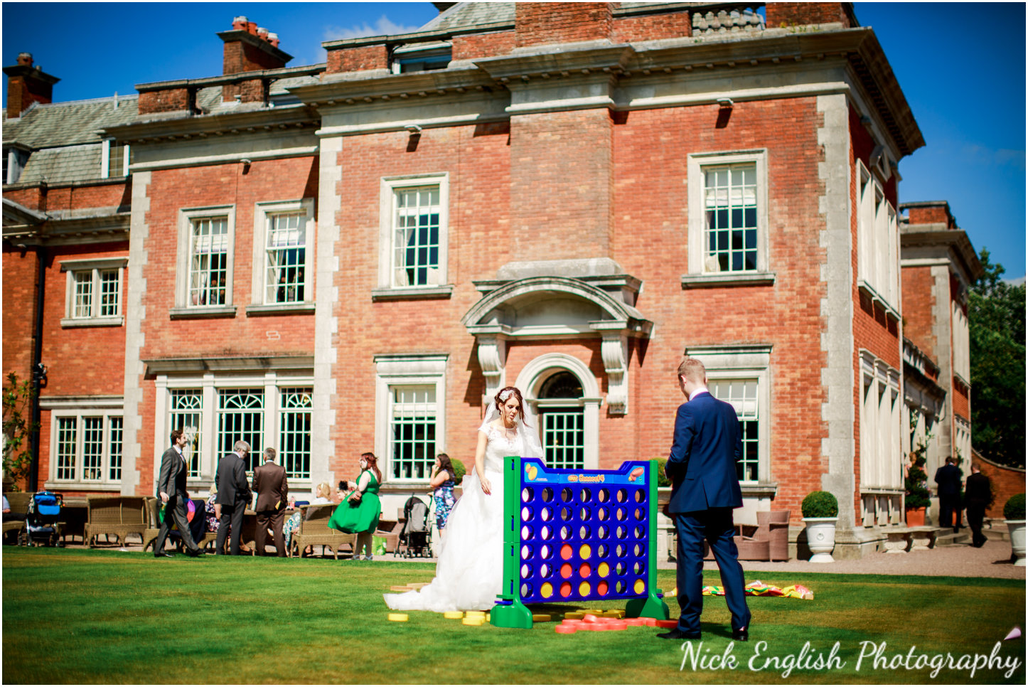Wedding games connect 4 Eaves Hall