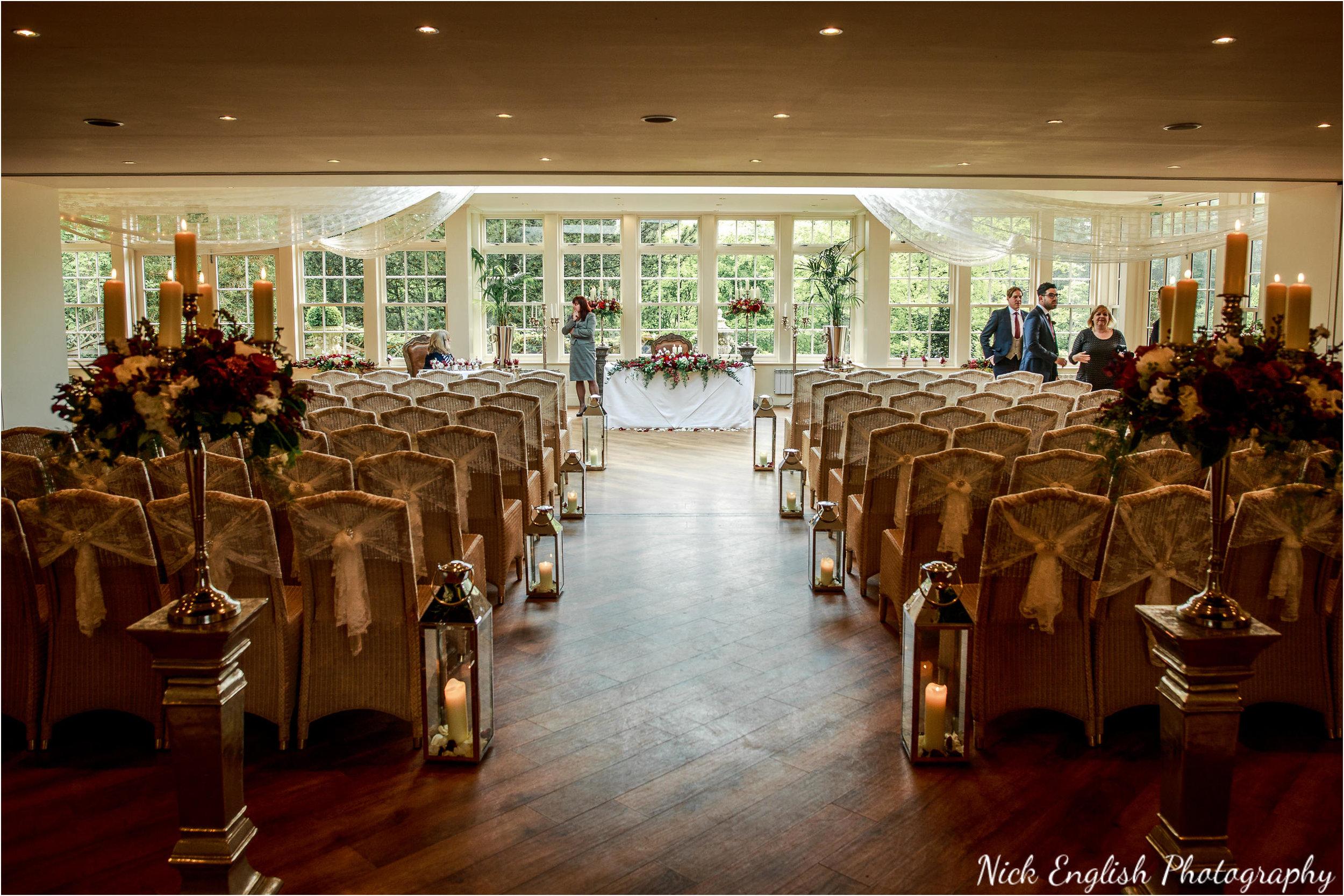 Mitton Hall Wedding Ceremony Room