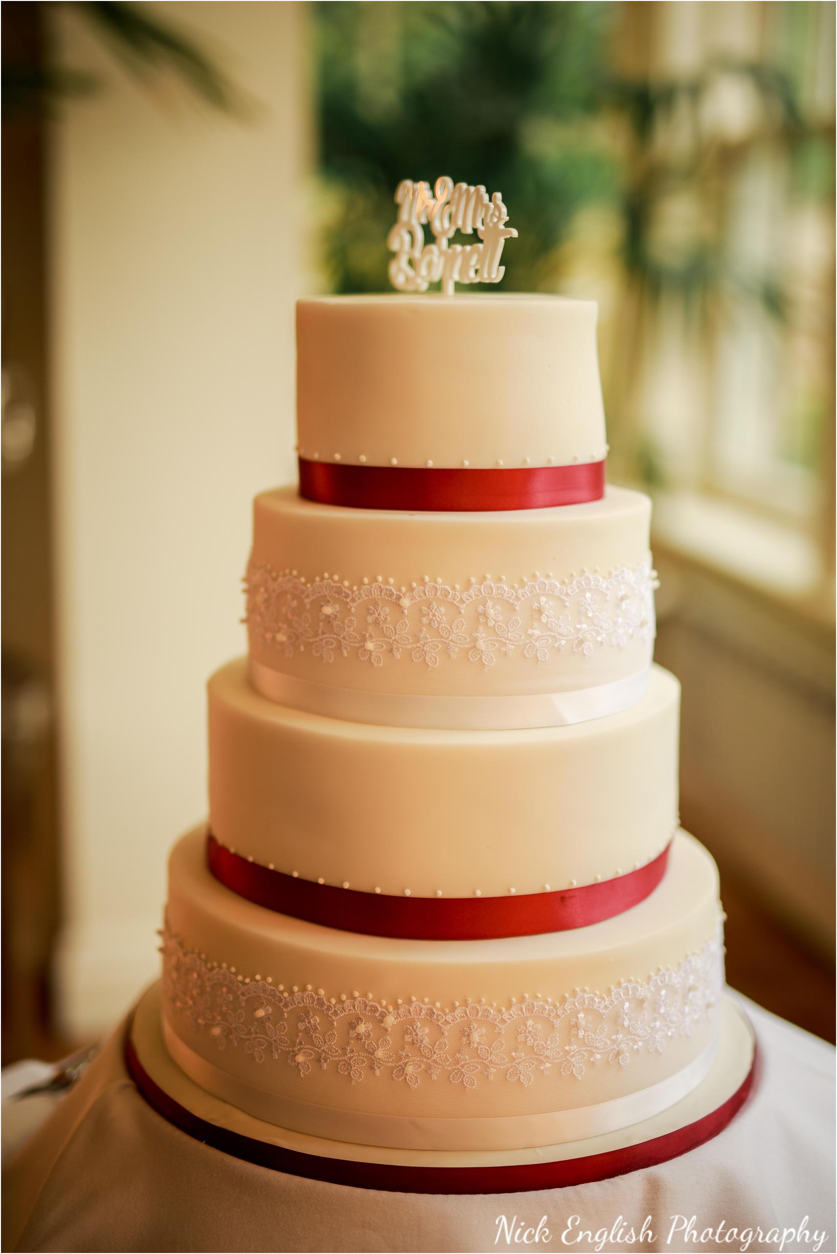 Mitton Hall Wedding Cake