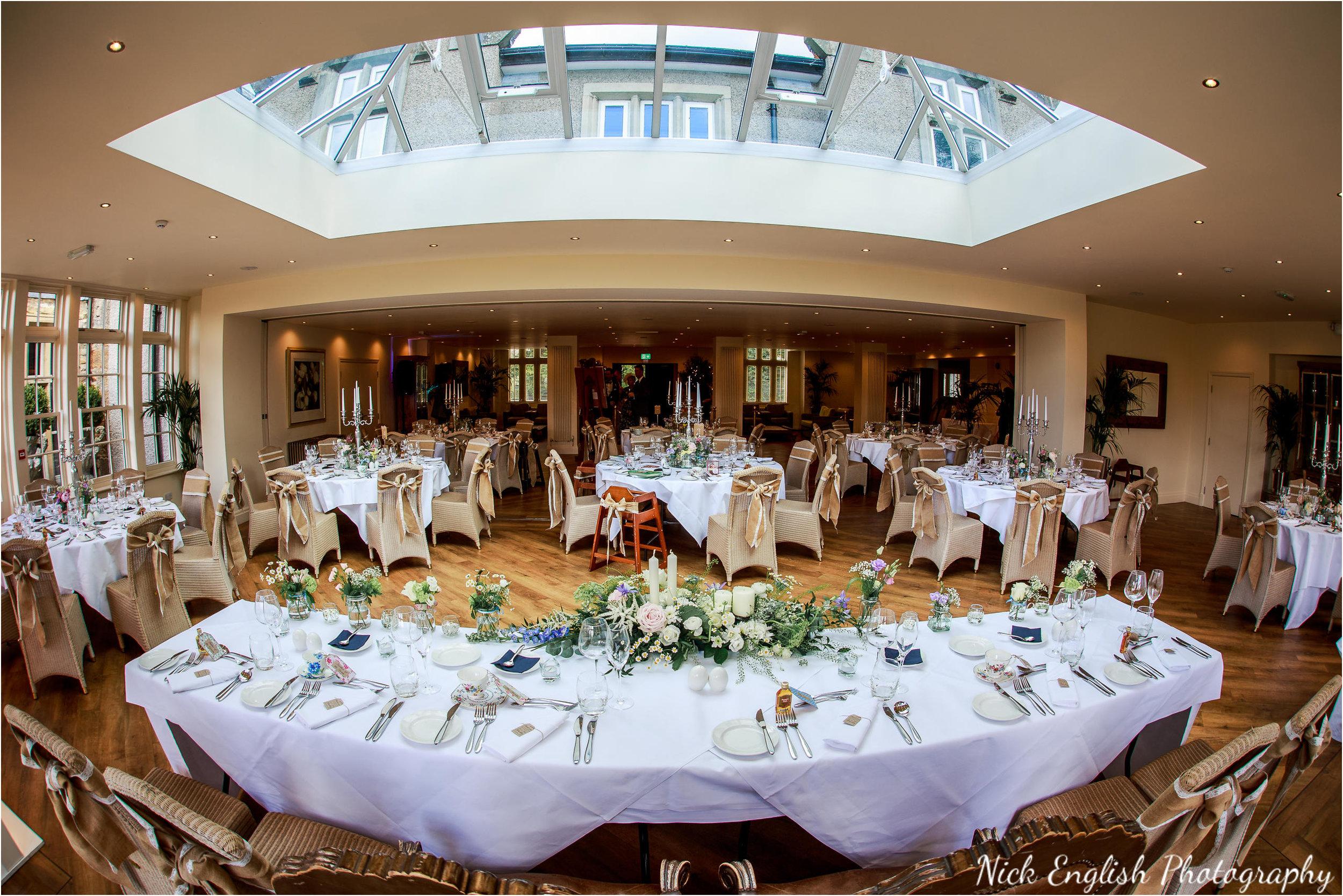 Mitton Hall Wedding Breakfast Room Layout