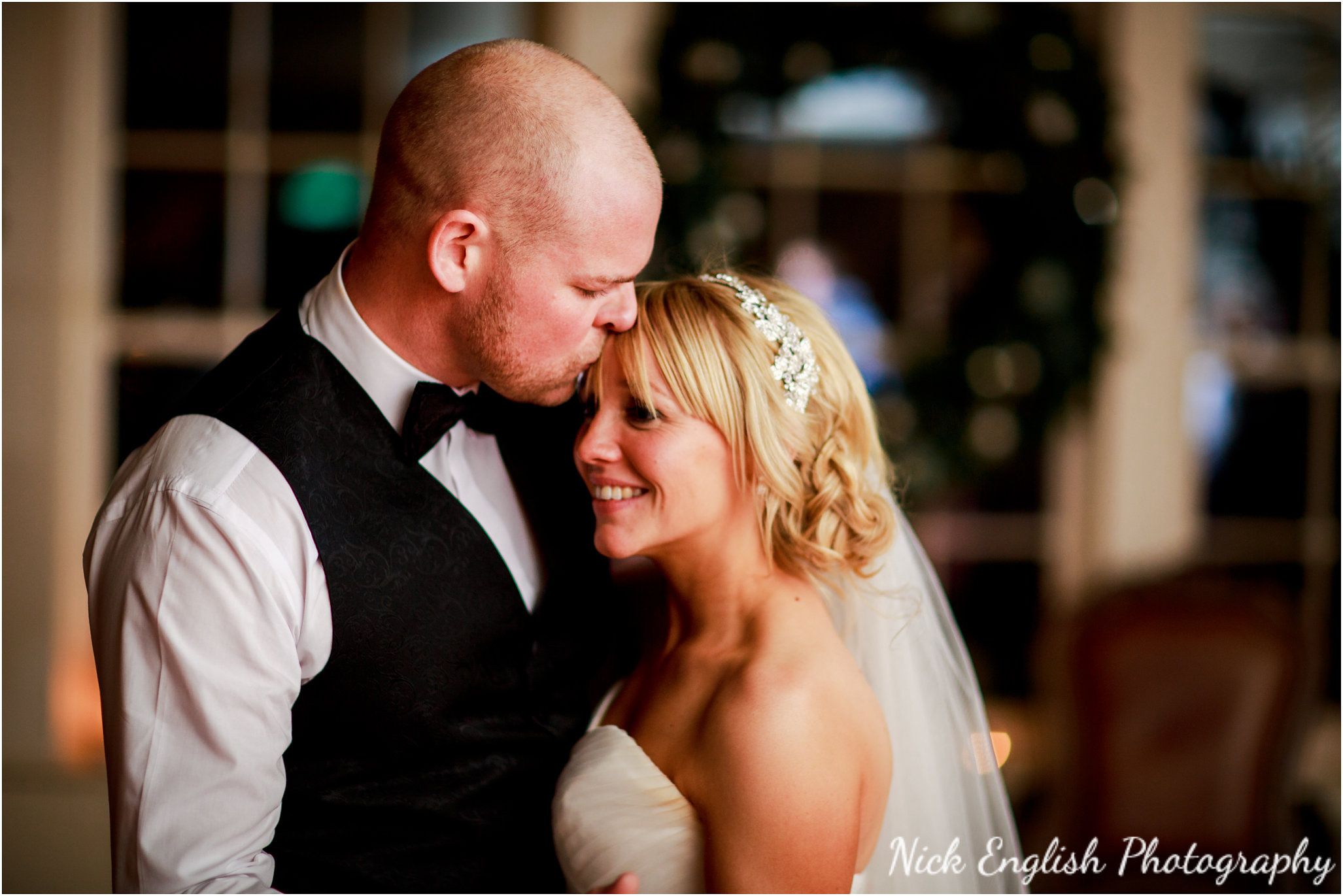 Mitton Hall Bride Groom First Dance Wedding