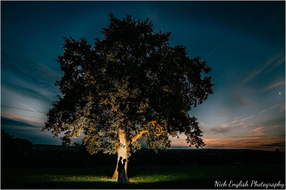 Shireburn Arms Tree Silhouette Wedding Photographer