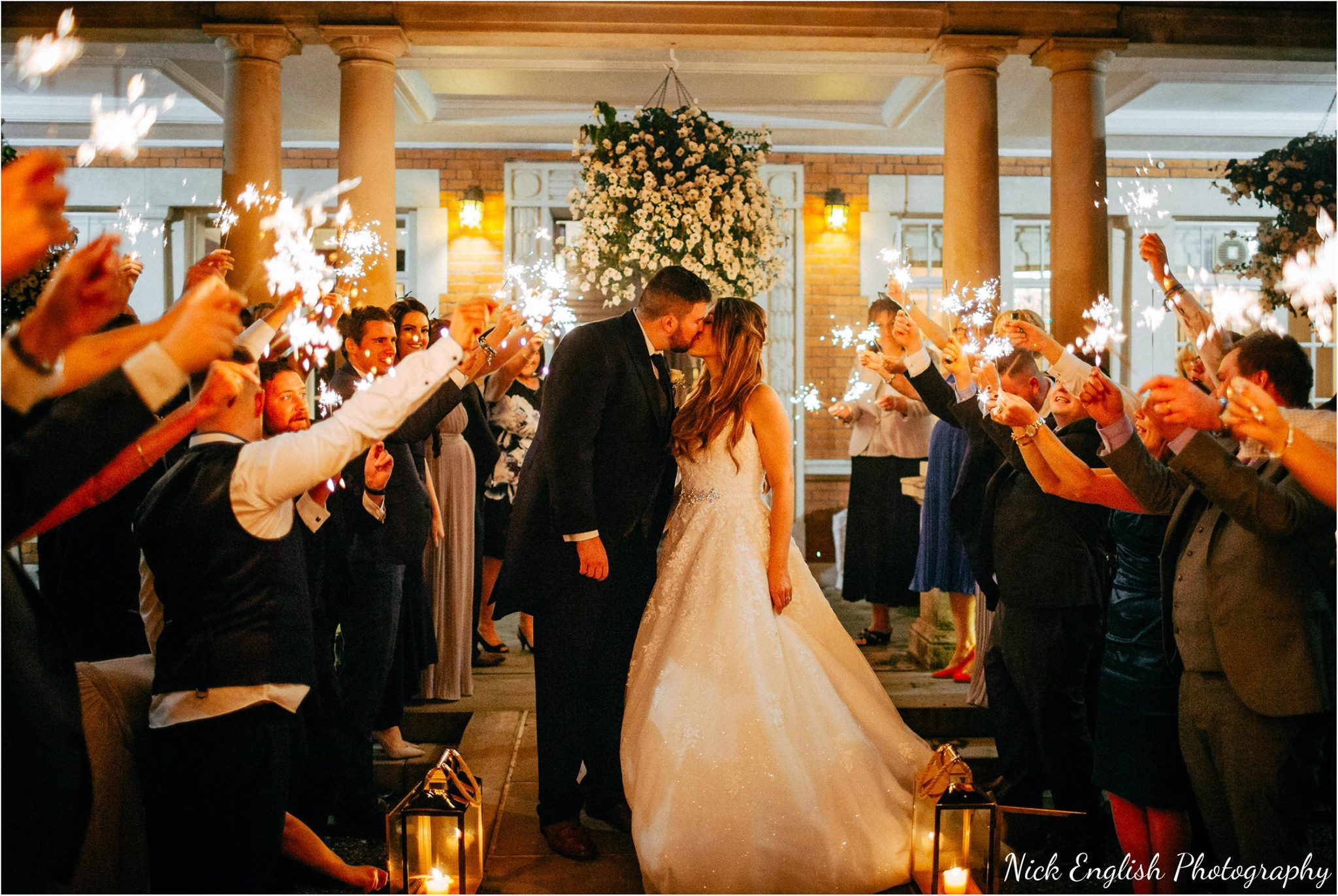 Canon 5D3 + 35L @ f1.4, 1/400th, ISO 3200 (could have used a lower ISO here, but uncertainty towards what the bride and groom would do (walk slow / walk fast / stop / kiss / laugh etc) made me pick a fast enough re-active shutter speed - therefore higher ISO