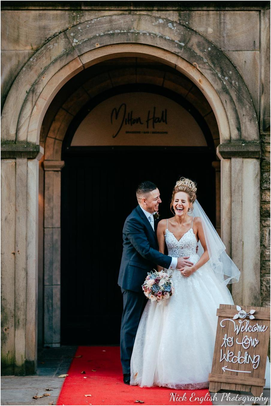 Mitton Hall Winter Wedding Photograph
