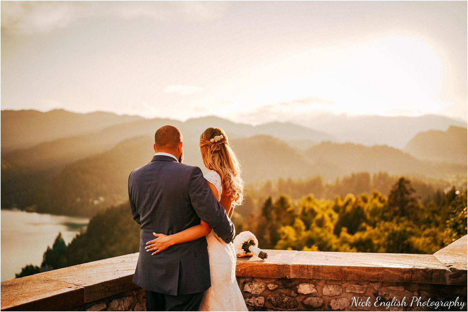 UK & Destination Wedding photographer - lake bled wedding slovenia