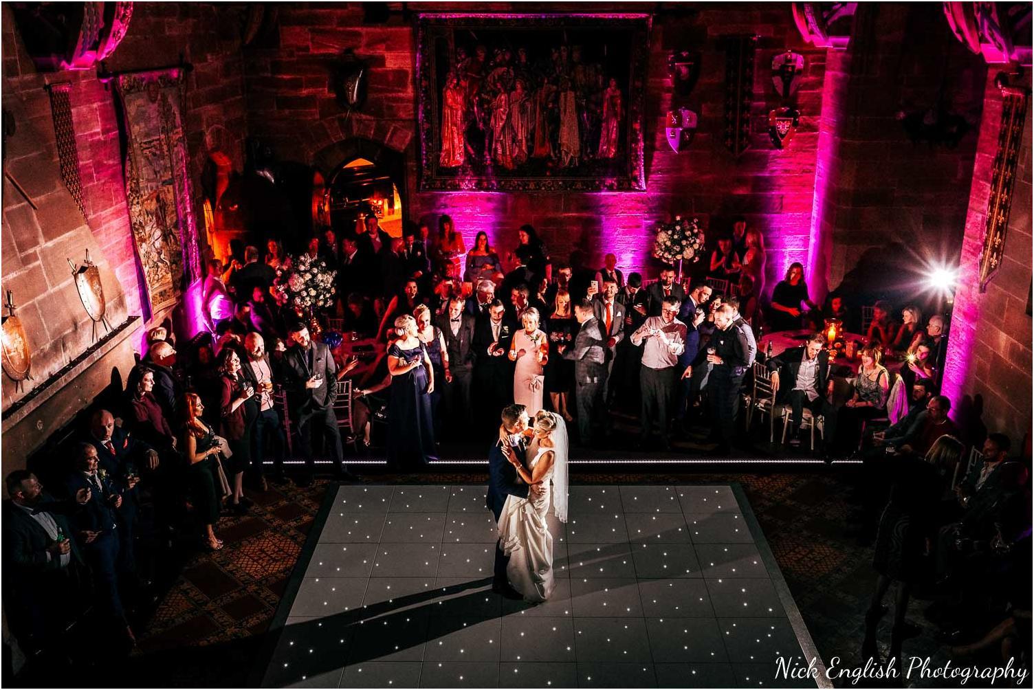 Peckforton Castle Wedding Photograph Nick English Photography