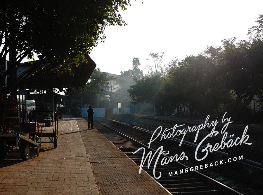 Morning Trainstation