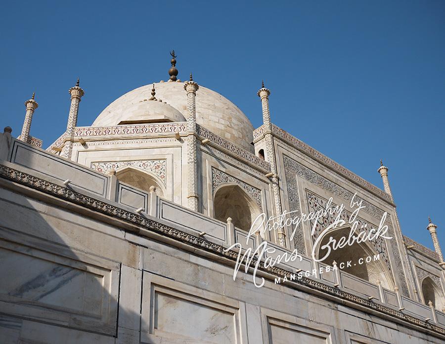 Taj Mahal Close