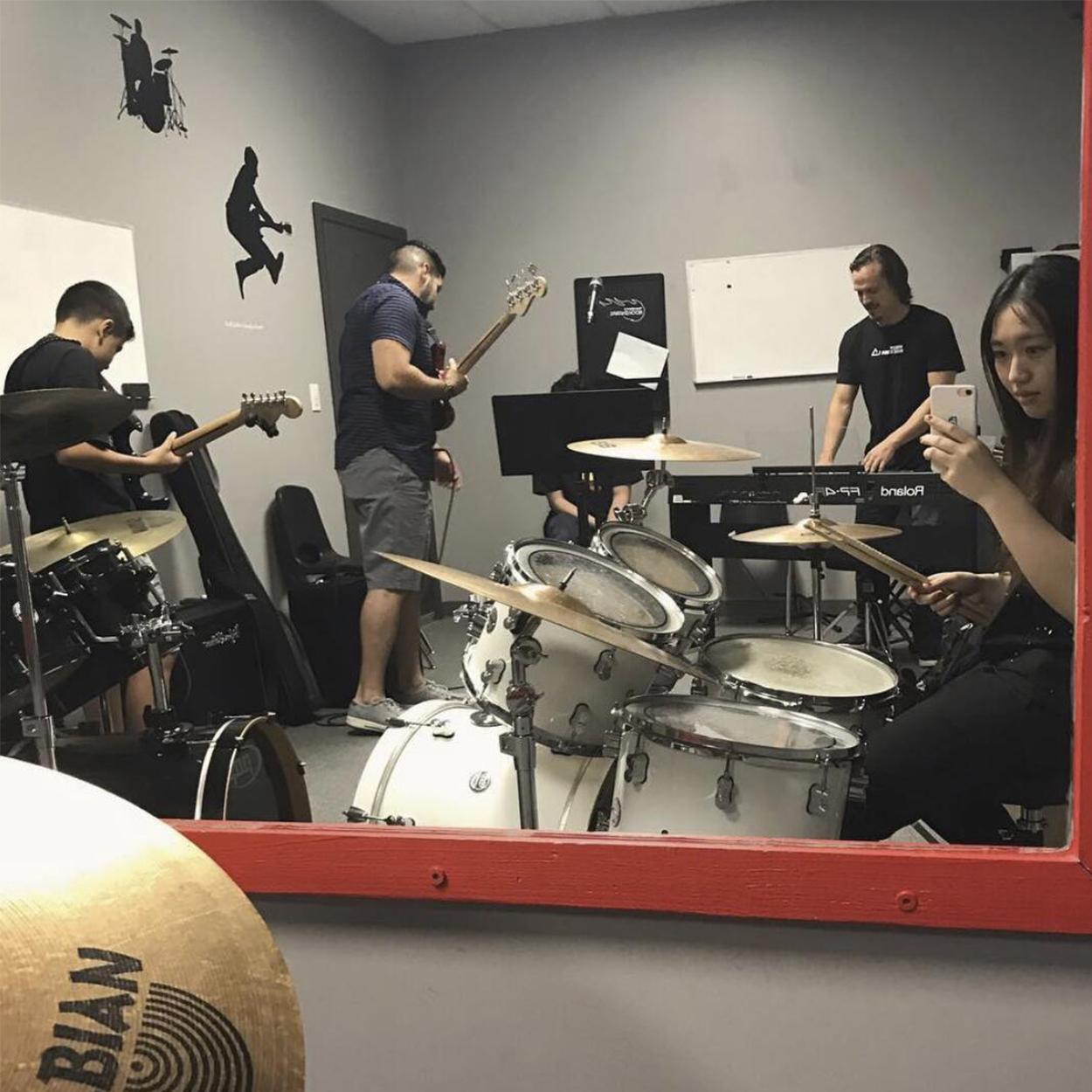 Drum & Guitar