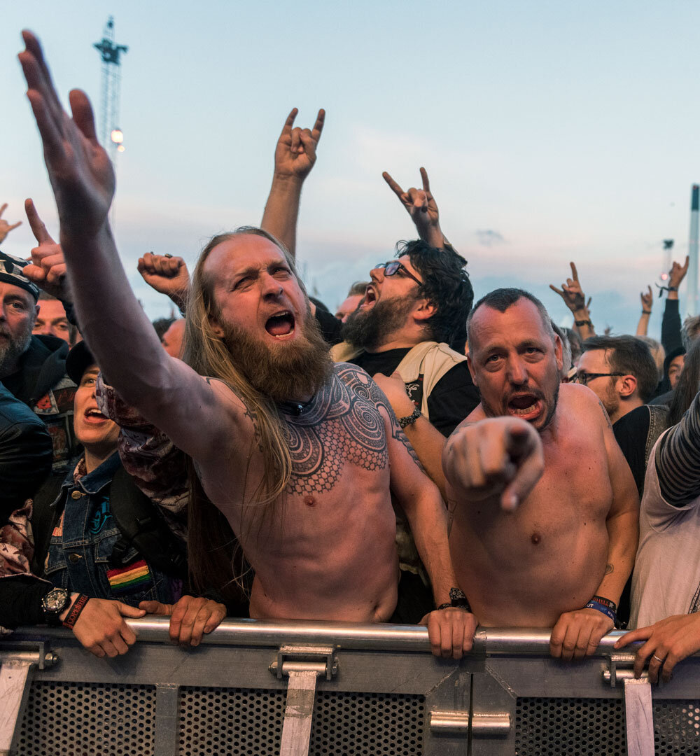 3-DAY TICKET - COPENHELL ticket for June 18, 19 and 20, 2020.