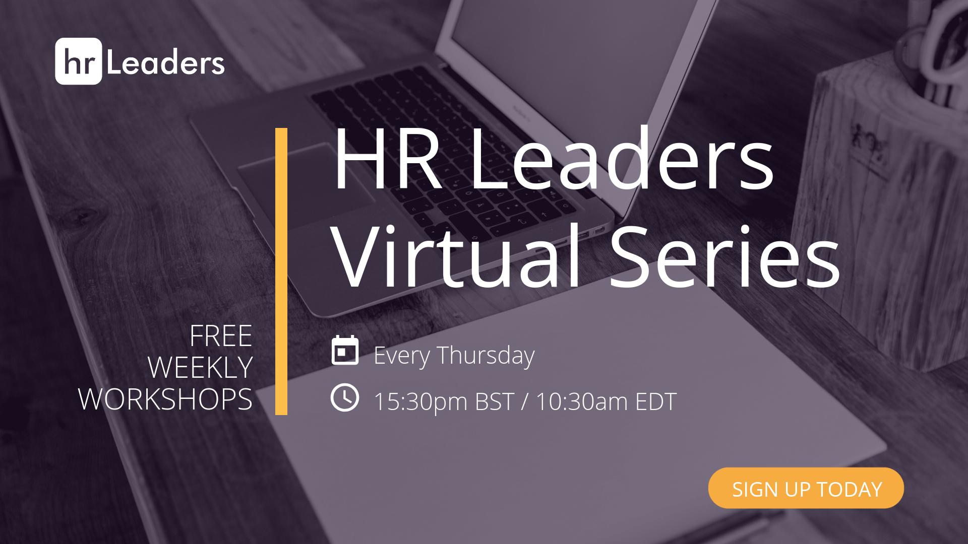 FREE HR Virtual Series