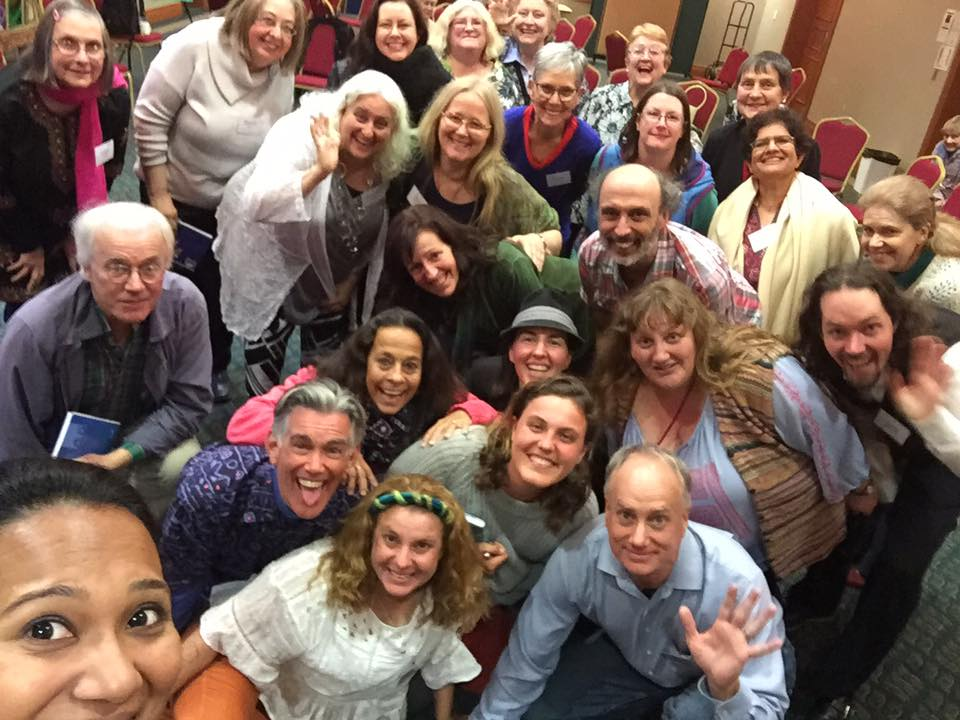 Storytellers at the Sydney International Storytelling Conference, May 2016