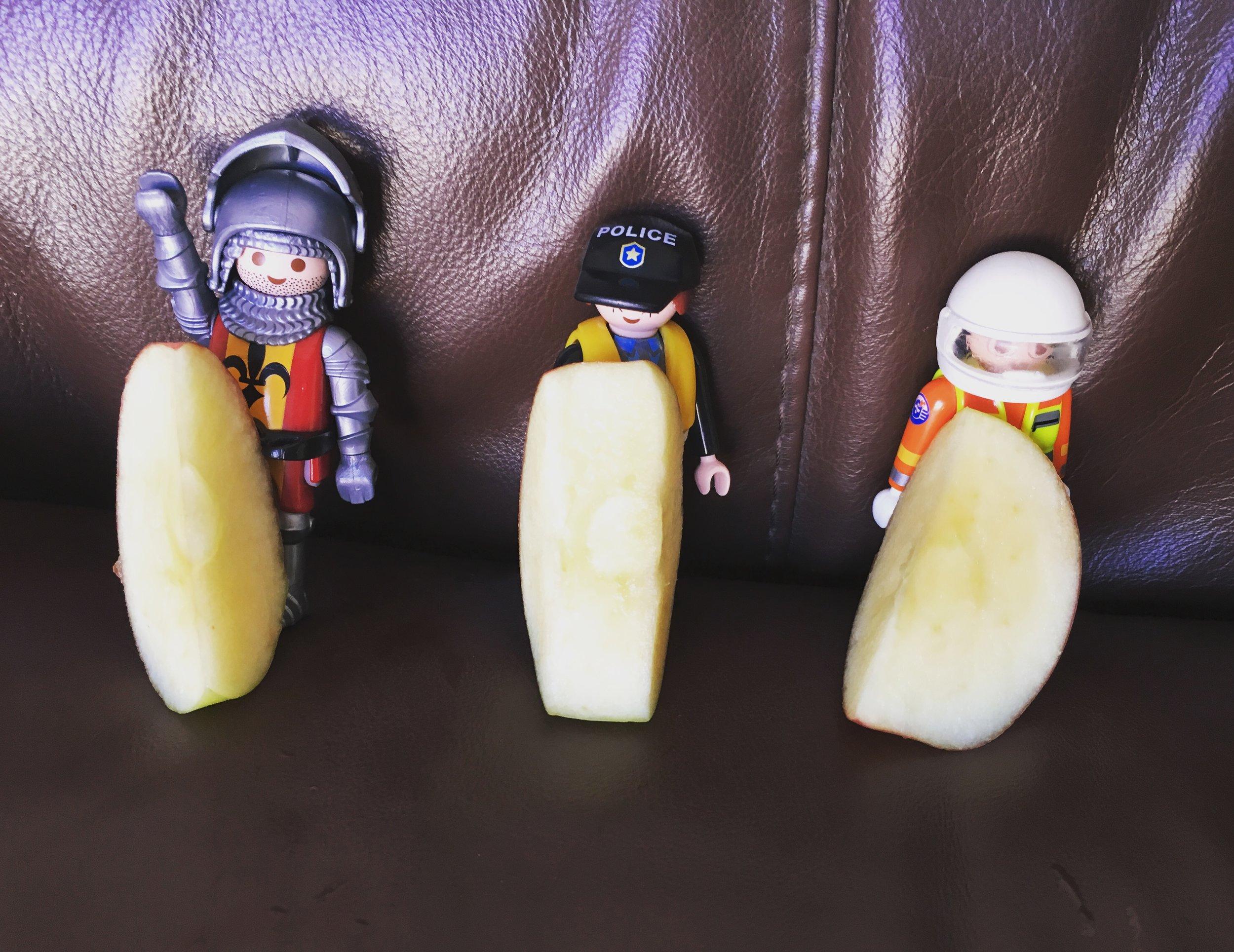 Everyone needs fruit!